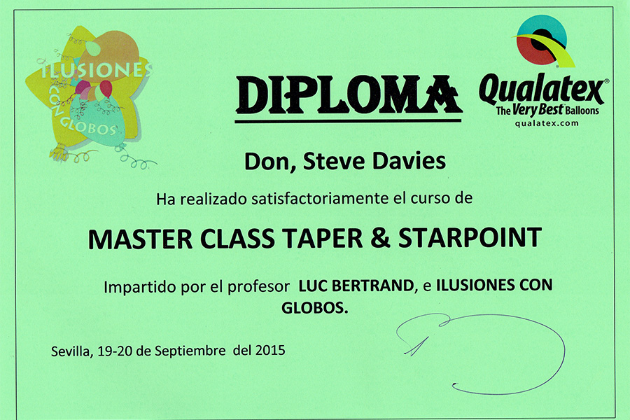Qualatex diploma