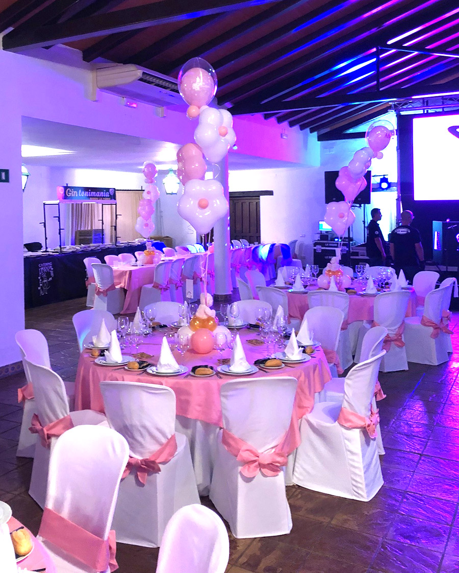 Fantastico Communion Balloons on the Costa del Sol