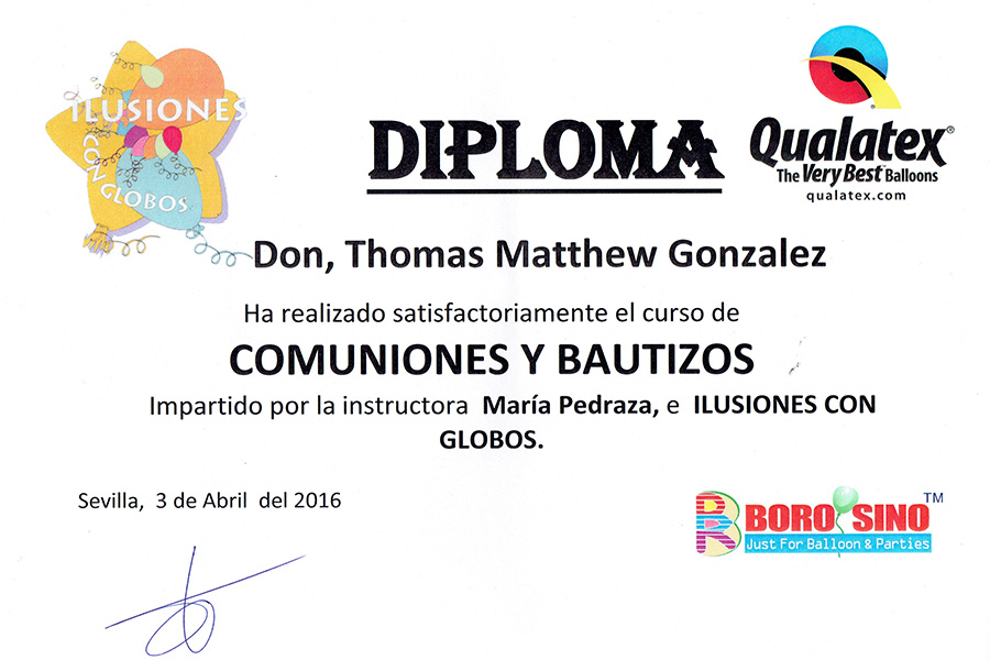 Thomas Gonzalez - Communion and baptism course