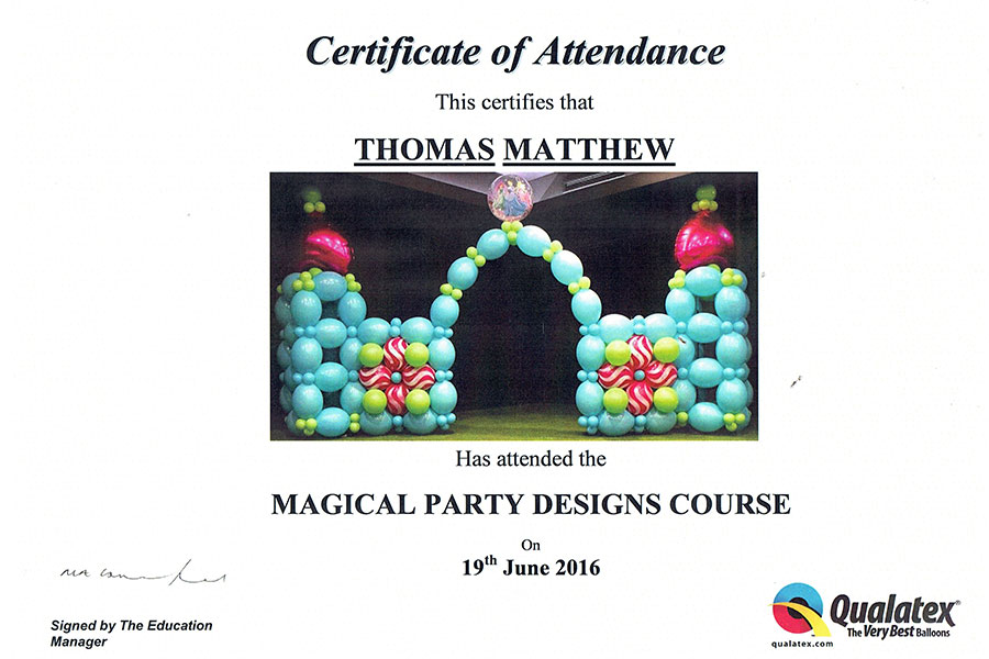 Magical Party Designs Course