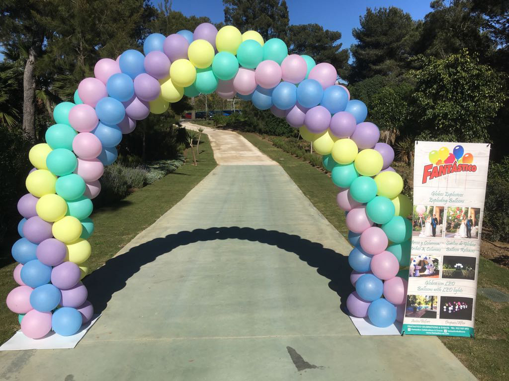 Fantastico Wedding Balloons on the Costa del Sol